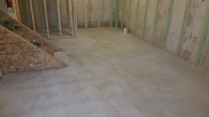 Interior Basement After Prep Before Coating