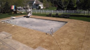 Johnson Pool Deck After Topical Sealing