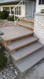 Plendl Step Resurfacing After