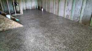 Interior Basement Floor After